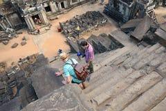 η Καμπότζη συγκεντρώνει siem Στοκ Εικόνες