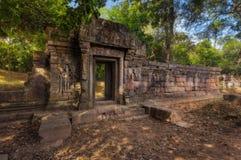 η Καμπότζη συγκεντρώνει siem Angkor Thom Αρχαίος Khmer προ ναός αρχιτεκτονικής Angkor σύνθετος Στοκ εικόνα με δικαίωμα ελεύθερης χρήσης