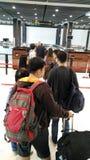 Η Καμπότζη Siem συγκεντρώνει το διεθνή αερολιμένα Στοκ Εικόνες