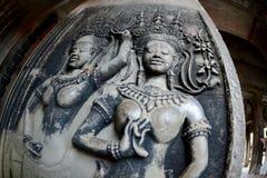 Η Καμπότζη Siem συγκεντρώνει το ναό Angkor Wat Στοκ φωτογραφίες με δικαίωμα ελεύθερης χρήσης