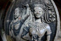 Η Καμπότζη Siem συγκεντρώνει το ναό Angkor Wat Στοκ Φωτογραφία