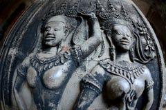 Η Καμπότζη Siem συγκεντρώνει το ναό Angkor Wat Στοκ εικόνες με δικαίωμα ελεύθερης χρήσης