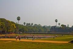 Η Καμπότζη, Siem συγκεντρώνει, Angkor Wat Στοκ Φωτογραφίες