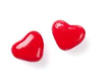 η καραμέλα έχει τις καρδιές εγώ ένα κείμενο sms αυτοί Στοκ εικόνες με δικαίωμα ελεύθερης χρήσης