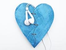 η καρδιά ακούει το σας Στοκ εικόνες με δικαίωμα ελεύθερης χρήσης