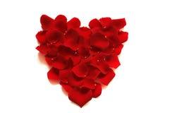 η καρδιά αυξήθηκε βαλεντί Στοκ εικόνες με δικαίωμα ελεύθερης χρήσης