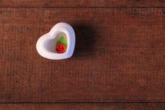 η καρδιά αυξήθηκε Στοκ εικόνα με δικαίωμα ελεύθερης χρήσης