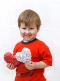 η καρδιά παιδιών παρουσιάζει Στοκ φωτογραφίες με δικαίωμα ελεύθερης χρήσης