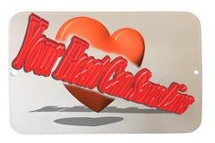 Η καρδιά σας μπορεί lave Lifes Στοκ εικόνα με δικαίωμα ελεύθερης χρήσης