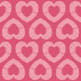 Η καρδιά το άνευ ραφής σχέδιο Στοκ εικόνα με δικαίωμα ελεύθερης χρήσης
