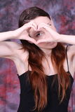 η καρδιά φαίνεται μου στοκ εικόνες