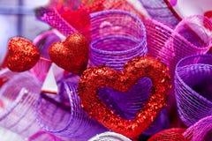 Η καρδιά φιαγμένη από ακτινοβολεί για την ημέρα βαλεντίνων ` s στοκ φωτογραφία με δικαίωμα ελεύθερης χρήσης