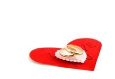 η καρδιά χτυπά το γάμο Στοκ εικόνα με δικαίωμα ελεύθερης χρήσης