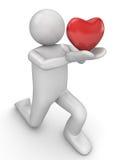 η καρδιά 2 μου παίρνει Στοκ Εικόνες