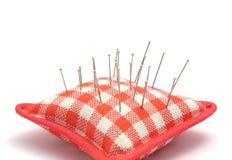 η καρφίτσα μαξιλαριών καρφώ& Στοκ Εικόνες