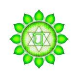 Η καρδιά Chakra Στοκ εικόνες με δικαίωμα ελεύθερης χρήσης