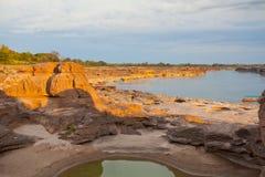 Η κατάπληξη του βράχου Στοκ φωτογραφίες με δικαίωμα ελεύθερης χρήσης