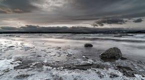 Η κατάδυση είναι κρύα Στοκ εικόνες με δικαίωμα ελεύθερης χρήσης