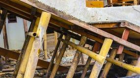 Η κατασκευή σπιτιών επεξεργάζεται Στοκ Εικόνες