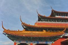 Η κατασκευή του αυτοκρατορικού παλατιού στοκ φωτογραφία