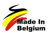 Η κατασκευή του Βελγίου παρουσιάζει την εξαγωγή βιομηχανική και εισαγωγή ελεύθερη απεικόνιση δικαιώματος