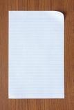 Η κενή Λευκή Βίβλος Στοκ φωτογραφία με δικαίωμα ελεύθερης χρήσης