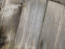 Η κινηματογράφηση σε πρώτο πλάνο παλαιού αποσυντέθηκε ξύλινος φράκτης Στοκ Εικόνες
