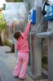 η κλήση μωρών κάνει προσπαθ&e Στοκ εικόνα με δικαίωμα ελεύθερης χρήσης