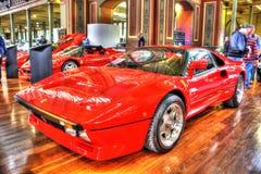 Η κλασική δεκαετία του '80 ιταλικό Ferrari Στοκ εικόνες με δικαίωμα ελεύθερης χρήσης