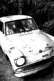 Η κλασική μπλε Ford Anglia Στοκ φωτογραφίες με δικαίωμα ελεύθερης χρήσης