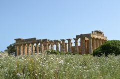 Η κοιλάδα των ναών του Agrigento - της Ιταλίας 020 Στοκ φωτογραφία με δικαίωμα ελεύθερης χρήσης