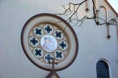 Η κοινότητα εκκλησιών Nossa Senhora DA Piedade Parquia Nossa Senhora DA Piedade, Novo Hamburgo, Βραζιλία στοκ φωτογραφία με δικαίωμα ελεύθερης χρήσης