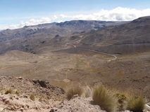 Η κοιλάδα Περού Colca Στοκ Φωτογραφίες