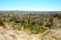 Η κοιλάδα της αγάπης σε Cappadocia, Τουρκία Στοκ Εικόνες