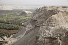 Η κοιλάδα της Ιορδανίας Στοκ Φωτογραφία