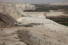 Η κοιλάδα της Ιορδανίας Στοκ Εικόνες