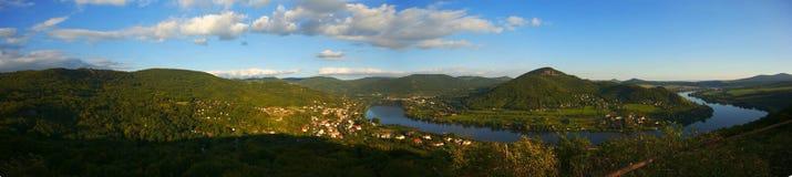 Η κοιλάδα Elbe Στοκ εικόνες με δικαίωμα ελεύθερης χρήσης