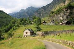 Η κοιλάδα Maglio σε Tessin, Ελβετία Στοκ Φωτογραφίες