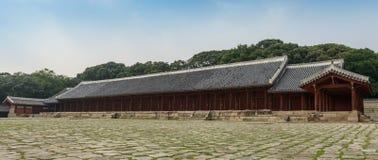 Η κορεατική αρχαία λάρνακα Στοκ Εικόνα