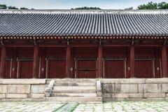 Η κορεατική αρχαία λάρνακα Στοκ εικόνα με δικαίωμα ελεύθερης χρήσης
