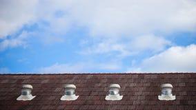 Η κορυφή ουρανού loof Στοκ εικόνα με δικαίωμα ελεύθερης χρήσης