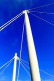 Η κορυφή του στυλοβάτη μετάλλων Στοκ φωτογραφία με δικαίωμα ελεύθερης χρήσης