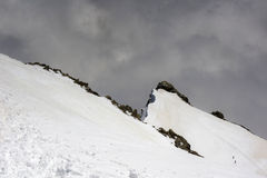 Η κορυφογραμμή στοκ φωτογραφία με δικαίωμα ελεύθερης χρήσης