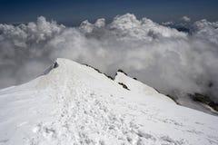Η κορυφογραμμή στοκ εικόνα
