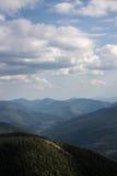 Η κορυφογραμμή Yavirnyk Στοκ Εικόνες