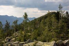 Η κορυφογραμμή Yavirnyk Στοκ εικόνα με δικαίωμα ελεύθερης χρήσης