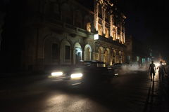 Η κουβανική νύχτα στοκ φωτογραφίες