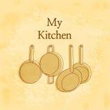 Η κουζίνα μου Στοκ Φωτογραφίες