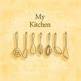Η κουζίνα μου Στοκ εικόνες με δικαίωμα ελεύθερης χρήσης