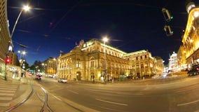 Η κρατική όπερα της Βιέννης, Βιέννη, Αυστρία απόθεμα βίντεο